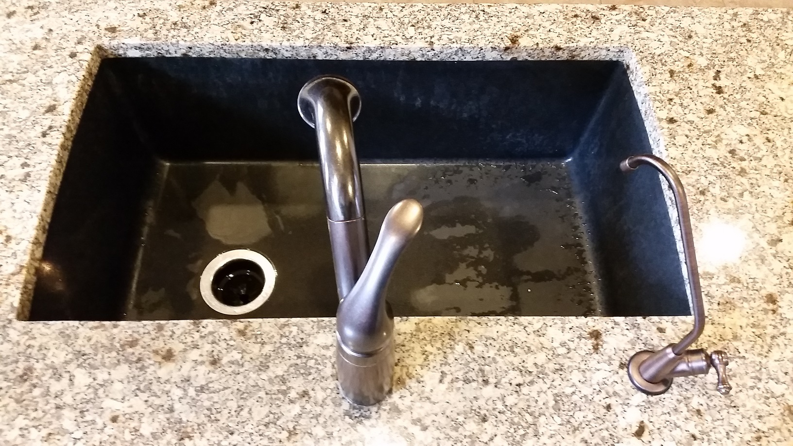 leaky faucet ditching the daily grind