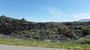Valley of Fires lava rock