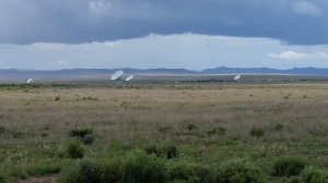 Part of the Very Large Array west of Socorro