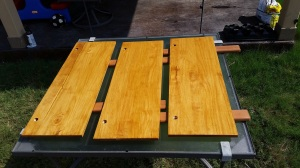 Staining Wood After