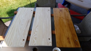 Staining Wood Before