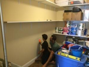 Storage Closet Side Wall