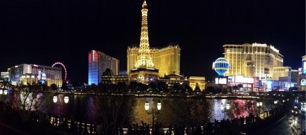 Vegas Skyline Night