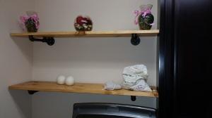 Laundry Shelves