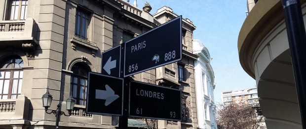 Intersection of London and Paris