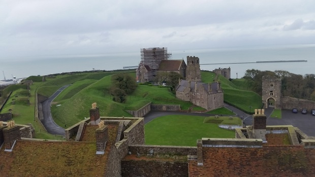 view-from-top-dover-castle