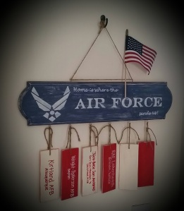 Home is Where the AF Sends Us