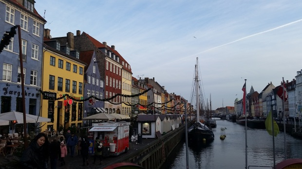 Nyhavn Christmas Market Copenhagen Denmark